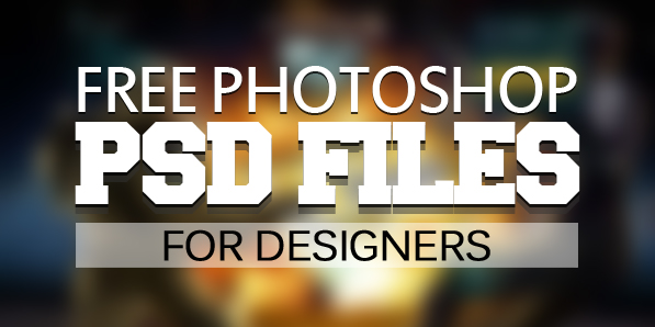 Free PSD Files: 26 Fresh Graphic Resources for Web Designers