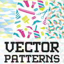 Post Thumbnail of Pattern Design - 35 Seamless Free Vector Patterns