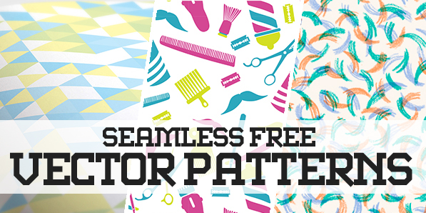 Pattern Design – 35 Seamless Free Vector Patterns | Pattern