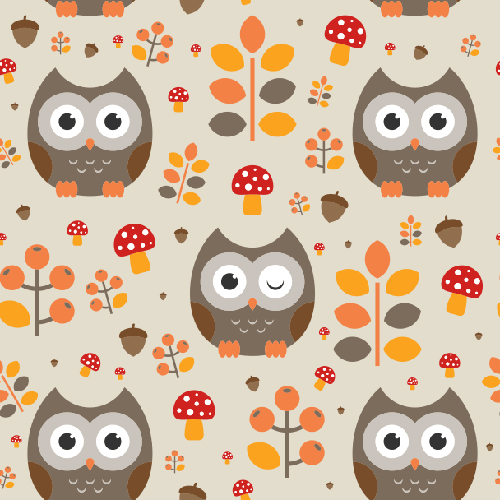 Create a Seamless Autumnal Pattern in Illustrator