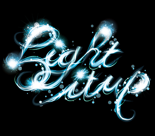How to make a Vector Light Drawing Text Effect in Illustrator