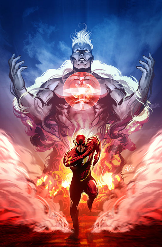 Captain Atom Digital Illustration