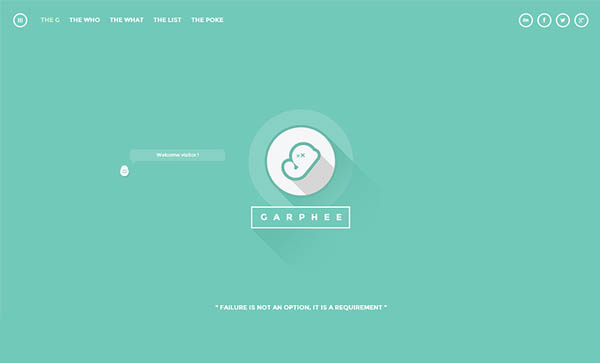 Flat Websites Design : 32 New Flat Web Design Examples 12