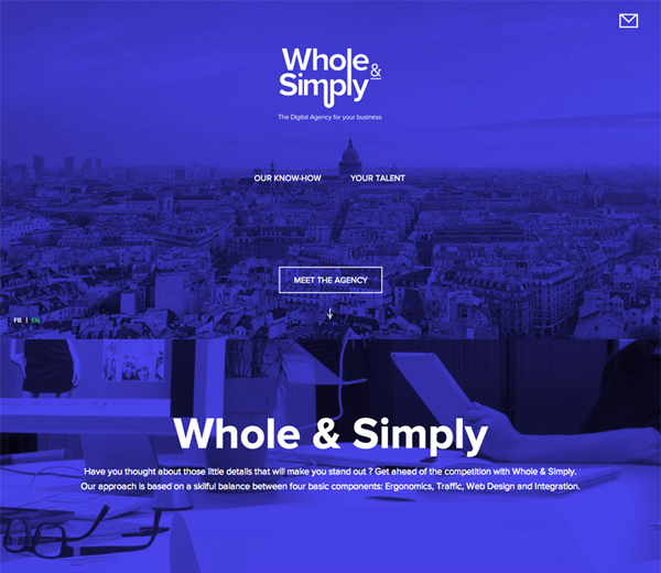 Flat Websites Design : 32 New Flat Web Design Examples 6