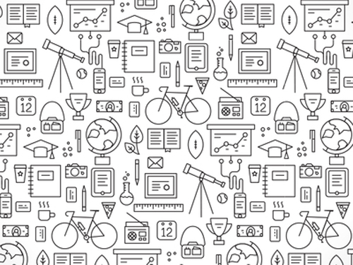 Pattern Design 35 Seamless Free Vector Patterns