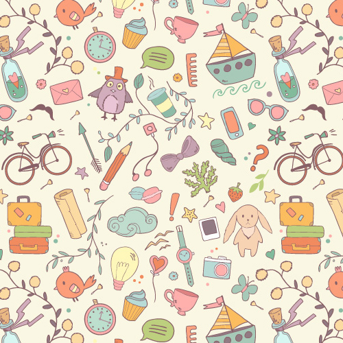 Pattern Design – 35 Seamless Free Vector Patterns | Pattern and