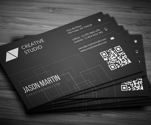 New modern style corporate business cards design graphic design clean corporate business card friedricerecipe Gallery