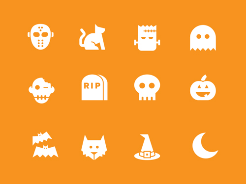 free halloween wallpapers  icons  background illustrations