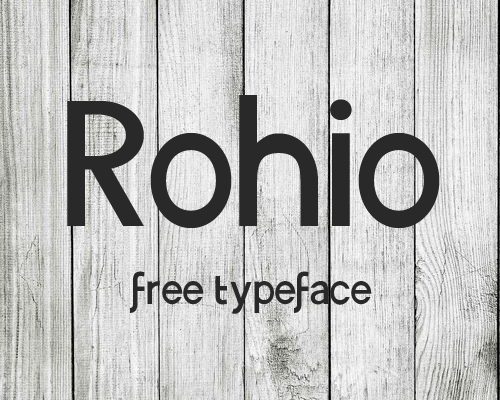 50 Free Fonts - Best of 2014 - 30