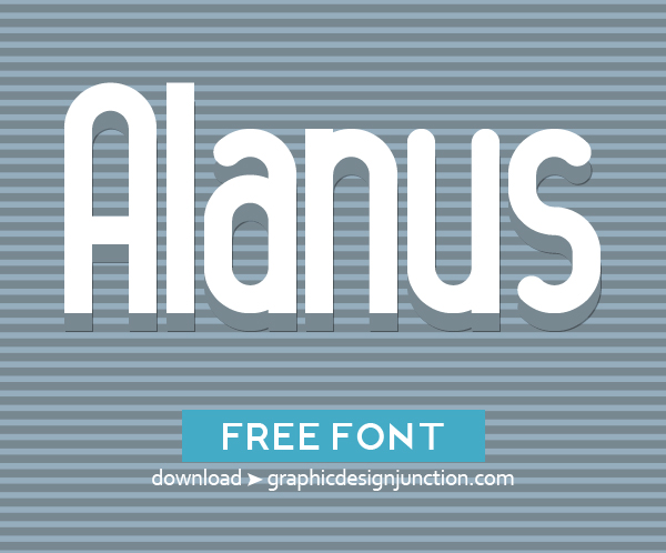 50 Free Fonts - Best of 2014 - 1