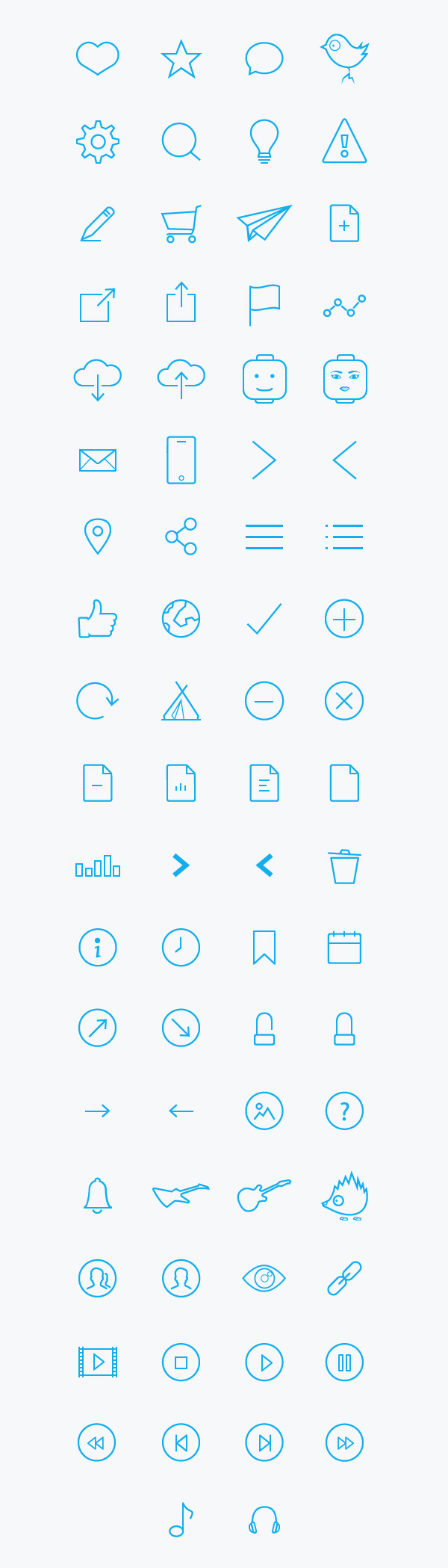 Bollhavet Free Outline Icons
