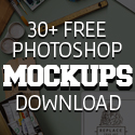 Post Thumbnail of New Free Photoshop PSD Mockups for Designers (30+ MockUps)