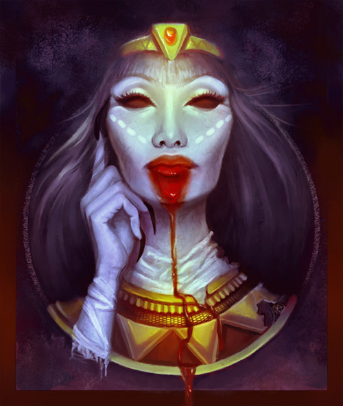 Create a Hauntingly Beautiful Cleopatra Mummy in Adobe Photoshop