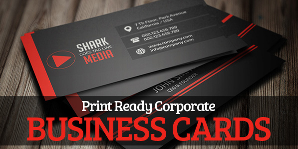 Print Ready Corporate Business Cards Design