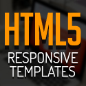 Post Thumbnail of New HTML5 Responsive Templates with Modern User Interface