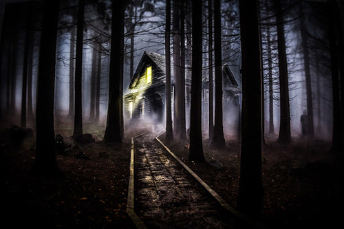 Create a Spooky Forest Setting in Adobe Photoshop