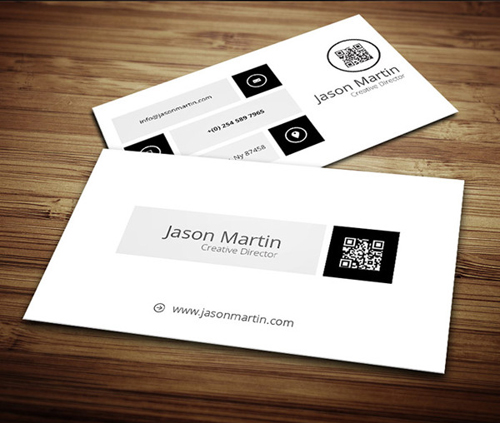 Metro Style Business Card
