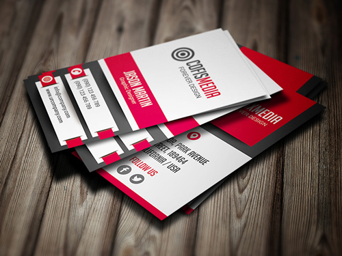 Corporate Business Design Card