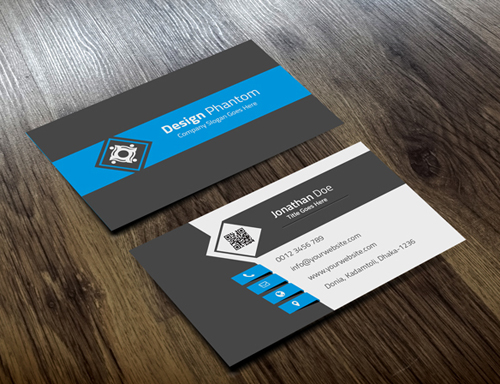 Creative Business Card Template (FREE PSD)