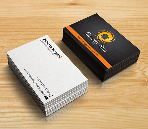 Energy Sun Corporate Business Card
