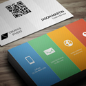 Post thumbnail of New Modern Style Corporate Business Cards