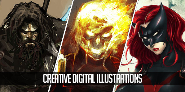 Creative Digital Illustrations for Inspiration – 30 Artworks