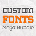 Post thumbnail of 25 Custom Font Families In One Mega Bundle