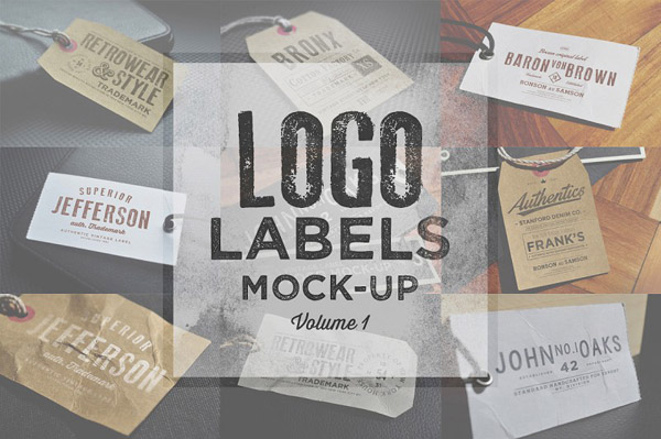 Logo Labels Mock-ups