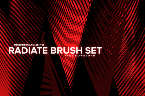 Radiate Brushes for Photoshop