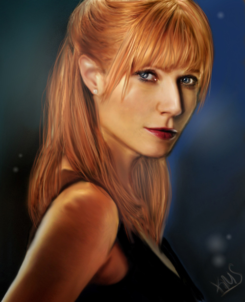 Pepper Potts by kristenmargina