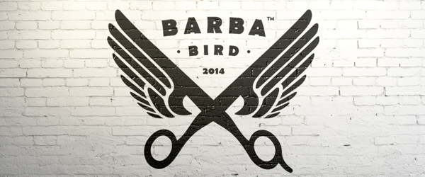 Barba Bird Identity Logo