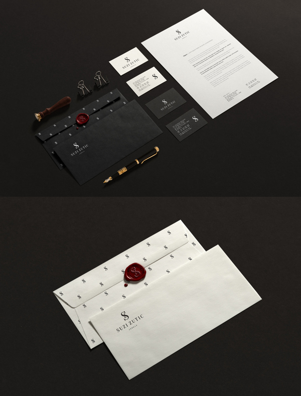 Suzi Zutic Jewels Stationery Items