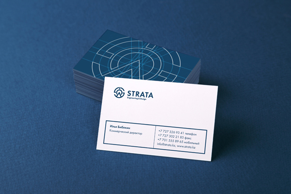 Strata Corporate Identity Business Card