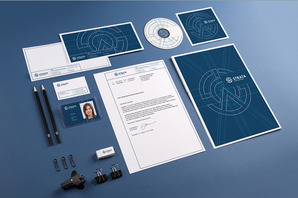Strata Corporate Identity Stationery Items