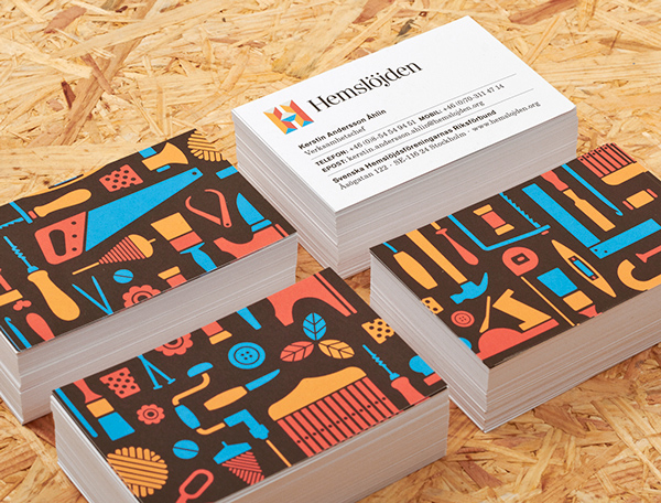 Swedish Handicraft Societies Business Card
