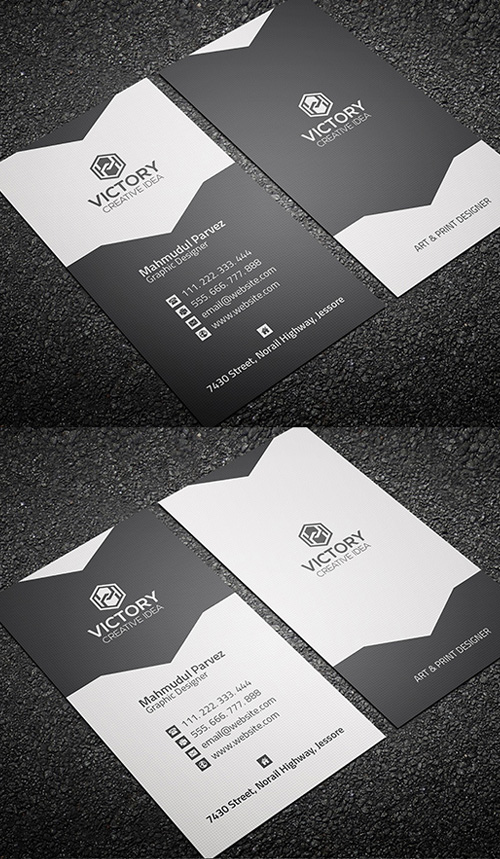 Corporate & Creative Business Card