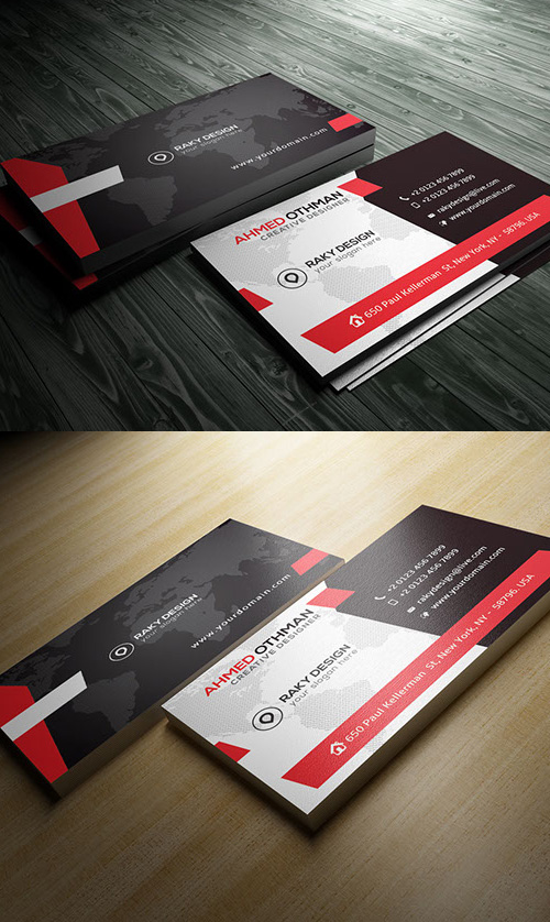 Comunication Stylish Corporate Business Card