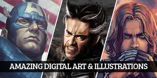 Amazing Digital Art & Illustrations by Professional Artists