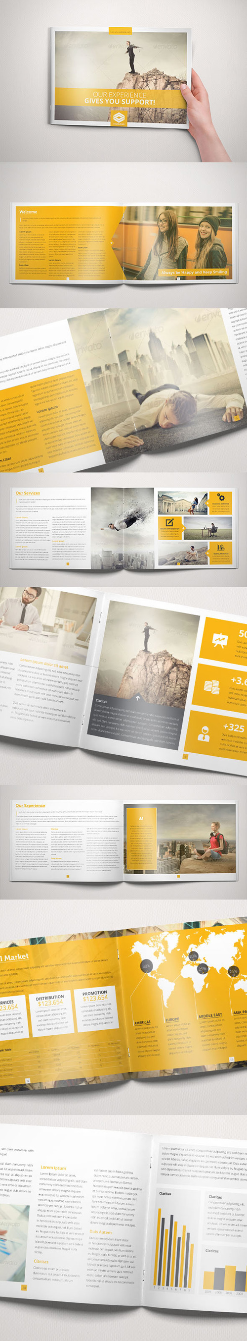 Business Brochure Indesign Template