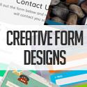Post Thumbnail of 14 Free Creative Form Designs