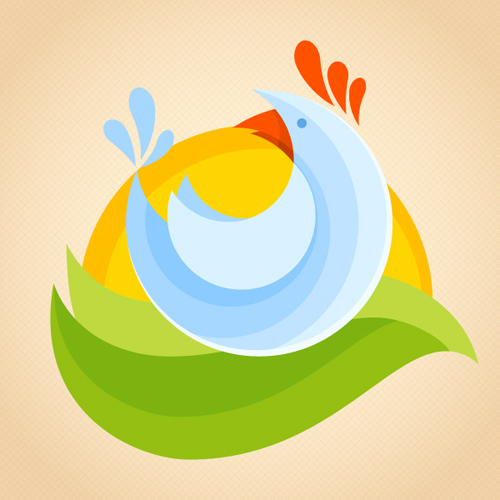 Design a Flat Chicken Logotype in Adobe Illustrator