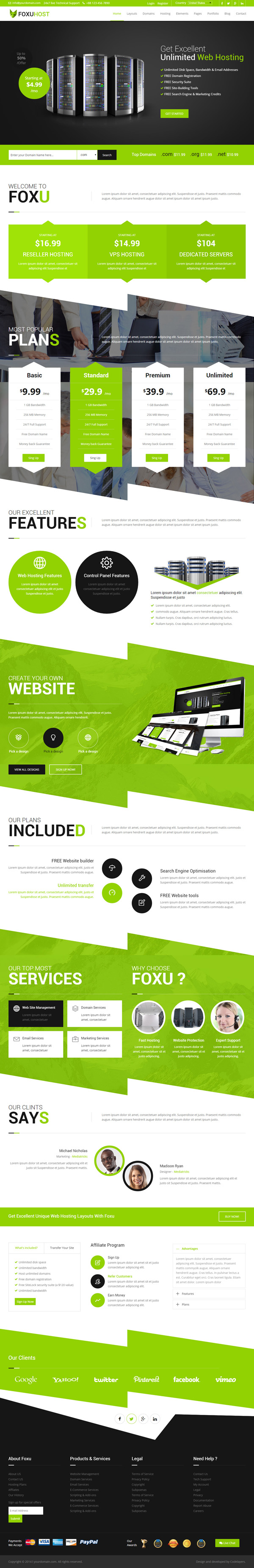 modern responsive html5 css3 website templates design graphic design junction. Black Bedroom Furniture Sets. Home Design Ideas
