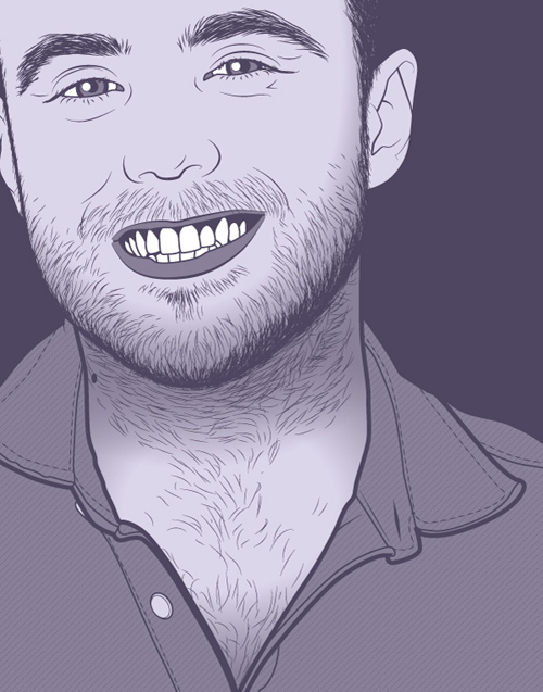Create a Purple Monochrome Portrait for Spirit Day in Adobe Illustrator