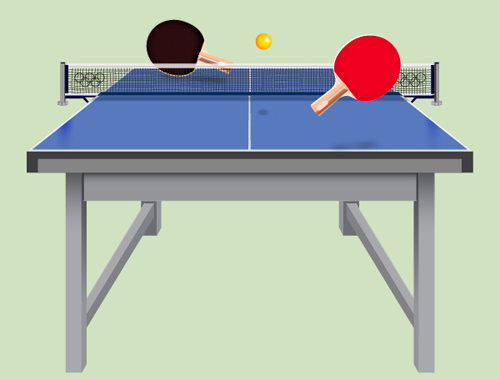 How to Create a Ping Pong Table in Adobe Illustrator