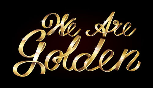 Create Shiny Metallic Text Art Effect in Adobe Illustrator