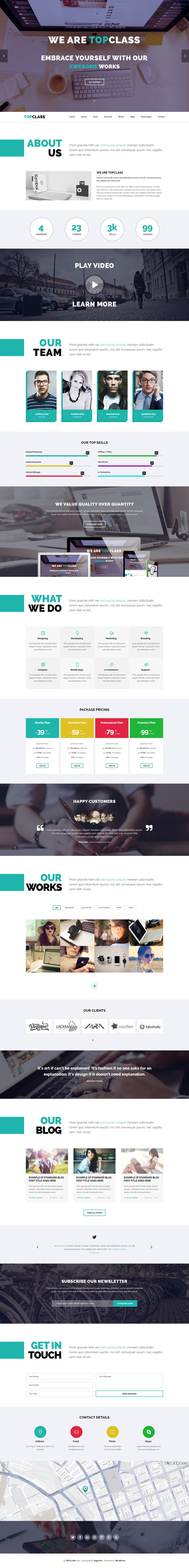 Modern responsive html5 css3 website templates design graphic top class multipurpose html5 responsive template solutioingenieria Images