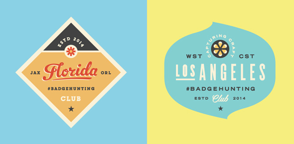 50+ Creative Designs of Badges and Logos - 11