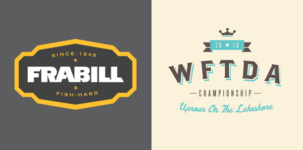 50+ Creative Designs of Badges and Logos - 16