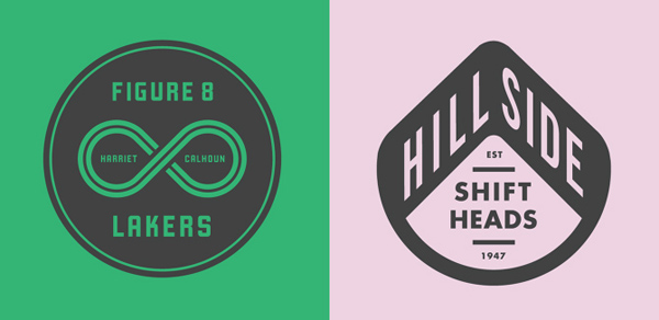 50+ Creative Designs of Badges and Logos - 19
