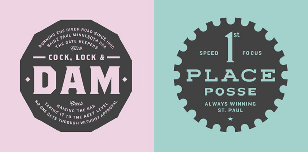 50+ Creative Designs of Badges and Logos - 25